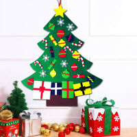 DIY Large Christmas Deluxe Felt Tree Door Wall Hanging Toddler For Kids Children