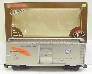 Lionel 8-87009 Western Pacific Boxcar LN/Box