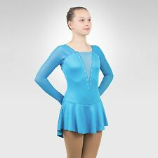 Ice Skating Figure Skating  Dress size XSMALL adult turquoise color