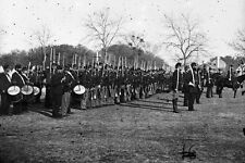 New 5x7 Civil War Photo: 50th Pennsylvania Infantry in Parade at Beaufort, S.C.