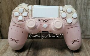 💗PLAYSTATION/PS4 V2 CUSTOM CONTROLLER CUSTOM OMBRE PIN PASTEL PINK SOFT TOUCH💗