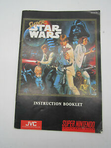 Star Wars  Instruction BOOKLET ONLY SNES Super Nintendo