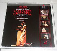 LaserDisc RICHARD STRAUSS Salome' GIUSEPPE SINOPOLI Malfitano LD dvd