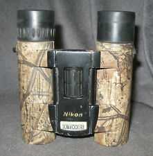 Nikon 10 x 25 x 5 Degrees RealTree Outdoors Camo Binoculars Hunting