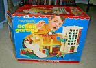 Vintage Fisher Price Play Family Action Garage in Box, 1970  #930