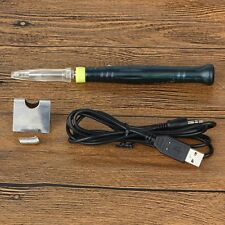 5V8W Mini Portable USB Electric Powered Soldering Iron Pen Tip Touch Switc DC RF