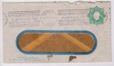 Railway 1924 careful crossing campaign Victoria Cinderella 1&1/2d green cover