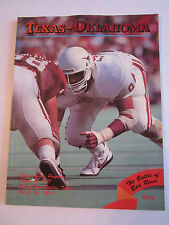 1987 TEXAS VS OKLAHOMA - COTTON BOWL - OFFICIAL FOOTBALL GAME PROGRAM - TUB FP