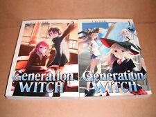Generation Witch Vol. 1,2 Manga Graphic Novels Set English