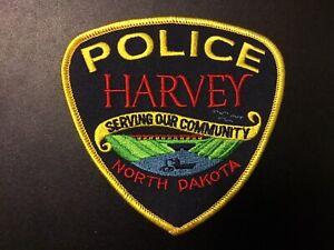Harvey North Dakota Police Department Patch