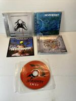 Sevendust CD Lot Of 4 With Bonus DVD Animosity Alpha Cold Day Memory MORE