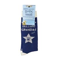 Lovely Boofle Grandad Socks Size 8-11 One Pair Birthday Christmas Gift Idea