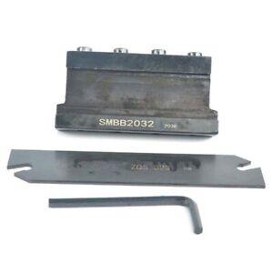 SMBB2032 +ZQS 32-3 cutting broad Grooving Cut-Off Cutter SMBB for ZQS323 broad