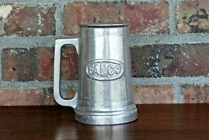 *FALCO* ~ Fairfield Aluminum Casting Co. ~ Fairfield, Iowa ~ Vintage Mug Stein