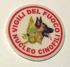 PATCH VVFF - NUCLEO CINOFILI - PVC