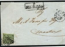 Italy States PAPAL STATES Cover Mantova 1858{samwells-covers} SP13
