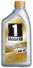 OLIO MOTORE MOBIL 1 0W40 5 LT - 100% SINTETICO