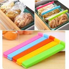 New 6Pcs Kitchen Storage Snack Food Seal Sealing Bag Clip Sealer Clamp Plastic Z