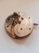 Detent Spring Chronometer Escapement Watch Movement Gold Jewel Setting...