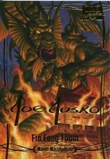Marvel Masterpieces 2016 ''Gold Signature'' Base Card #3 Fin Fang Foom