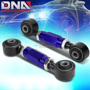 FOR 88-00 CIVIC/CRX/DEL SOL/DC BLUE ADJUSTABLE REAR LOWER TOE CONTROL ARM/BAR
