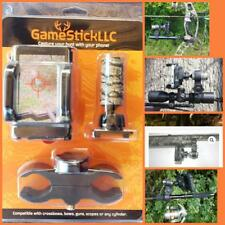 Game Stick- Cell Phone Camera Mount Crossbow or Rifle Hunting and Archery Video