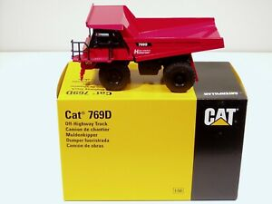 "Caterpillar 769D Dump Truck - ""HOLZNER"" - 1/50 - NZG #477 - MIB"