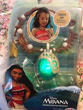 NEW Disney Moana's Magical Seashell Light-up Necklace Jakks Pacific Cosplay