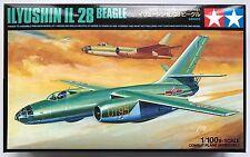 Tamiya 61601 ilyyushin il-28 BEAGLE 1/100 Kit de modelismo NUEVO, EN CAJA
