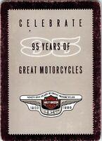 Harley-Davidson95Years motorcy SingleSwapPlayingCard - 8, Eight of Spades 1 Card