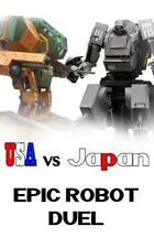 USA vs Japan : Epic Robot Duel by Robin Bass (2015, Paperback)