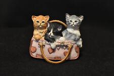Sherratt And Simpson! Kitten Trio! #SM89346LX! Cat Figurine!