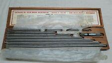 Starrett No 823e 4 40 Inch Inside Micrometer Set Tool Maker Machinist Used