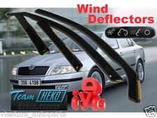 Skoda OCTAVIA  1996 - 2010  5.doors  Wind deflectors 4.pc  HEKO  28311