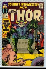 Journey Into Mystery #122 (1965) VG (4.0) ~ Marvel Thor ~ Stan Lee