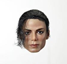 HOT FIGURE TOYS 1/6 Heaven dancer Michael Jackson implanted hair headplay Custom