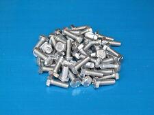 "50 Pack. 1/4 x 3/4"" BSF Bolts (Setscrews) High Tensile Steel, Bright Zinc Plated"