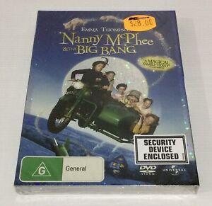 Nanny McPhee and The Big Bang- DVD New In Original Sealed Packaging