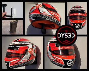 1/2 Scale Helmet Wall Mount Display Formula One Nascar Indy Moto GP Racing F1