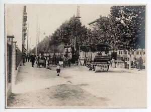 Milano - Via Melzi Foto Trabajos de Carretera - Pesca Deportiva - 1927