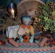 """Patti/'s Ratties Primitive Halloween Thanksgiving 6/"""" Candle Paper Pattern #664"""