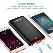 Battery External Power Bank Charger Mobile Portable Telefon Samsung iPhone iPad
