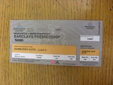 03/03/2007 billet: Newcastle-Middlesbrough [Bamburgh suite saison 2006/