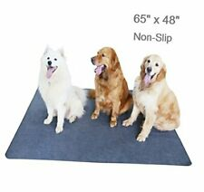 New listing Non-Slip Dog Pads 65 x 48, Washable Puppy Pads with Fast Absorbent, Waterproof f