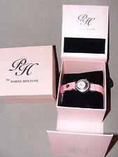 """A estrenar con las etiquetas en Caja Paris Hilton Para Mujer Rosa Watch 'amor está en el aire"""""""