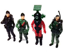 """Vintage 80's Palitoy GI JOE ACTION FORCE Soldiers 3.75"""" toy figure lot NICE"""