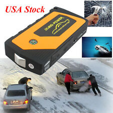 Battery Jump Starter 600A Peak Portable Car SUV Charger Booster w/ Jumper Cables