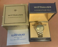 Longines Wittnauer Geneve Automatic Day / Date 2 Tone Dial 1970's Watch W/ Box