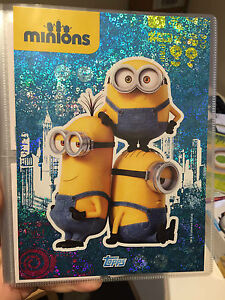 Topps Minions Regular Cards, Boost Cards, Puzzle Cards + Binder NO.49~176
