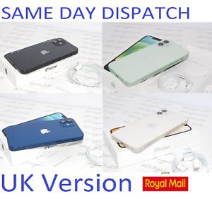"NEW Condition Apple iPhone 12 6.1"" 5G 64GB 128GB Mobile unlocked UK Version #"